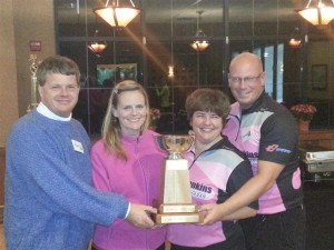 Fall 2013 Champs - East of Maine Second - Chuck Newcombe, Lead - Cynthia Newcombe, Vice - Monique Penney, Skip - Jonathan Penney