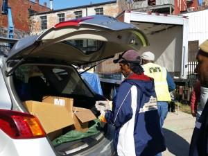 Food Donation Loading 2015